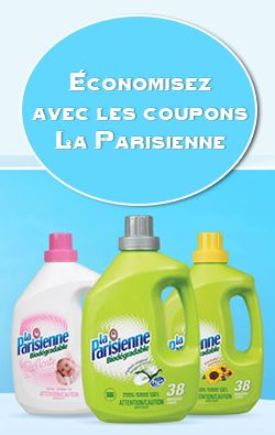 Nouveaux coupons La Parisienne  http://rienquedugratuit.ca/coupons/nouveaux-coupons-la-parisienne/