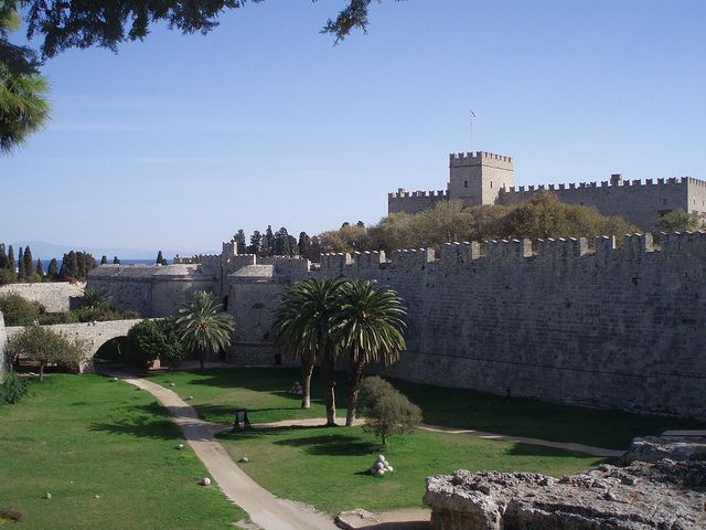 City Walls of Rhodes   Flickr - Photo Sharing!