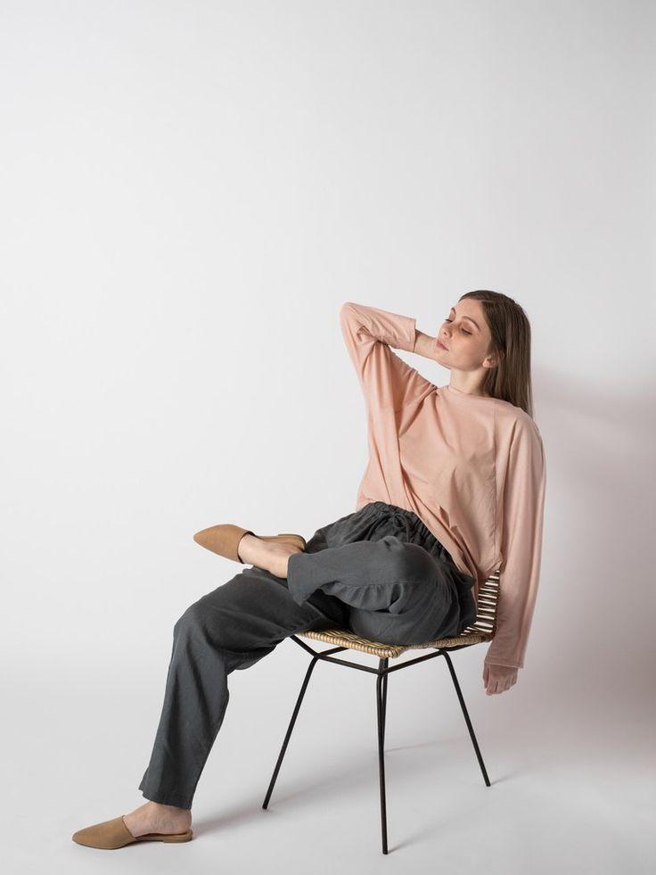 GEM LONG SLEEVE #sibedthreads #sibedclothing #linen #madeinNewZealand #womansclothing