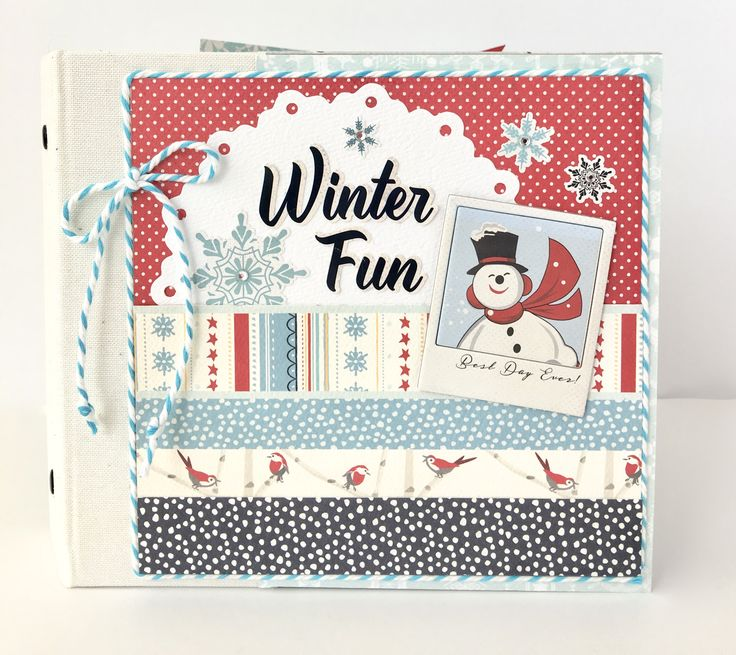 Winter Fun - Scrapbook.com