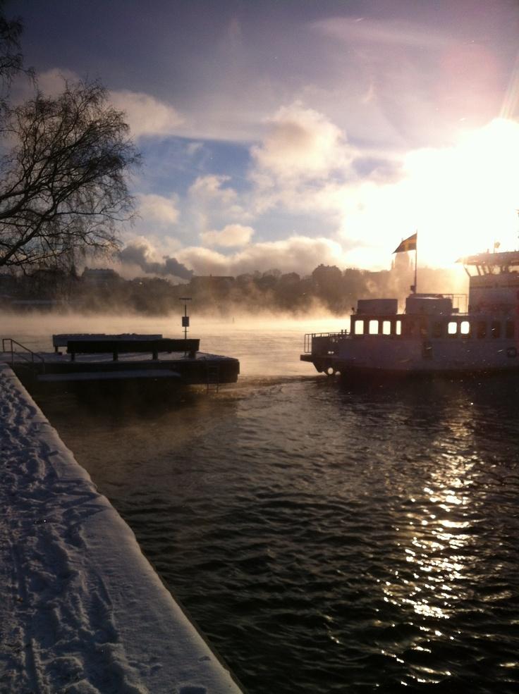 ferry at djurgården