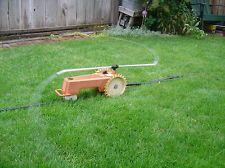 Melnor traveling tractor sprinkler.