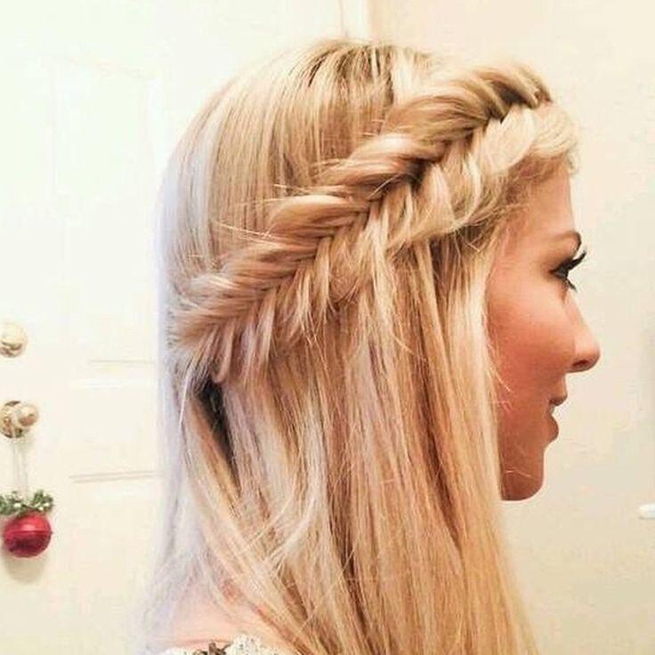 #FISHTAIL #HAIRSTYLE #hair #beautiful #girly #hairdo #blonde #hairspiration #fun #hairgoals