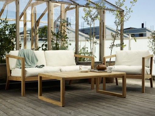 43 best Balcony images on Pinterest Backyard patio, Garden deco - teakholz gartenmobel eleganz funktionalitat