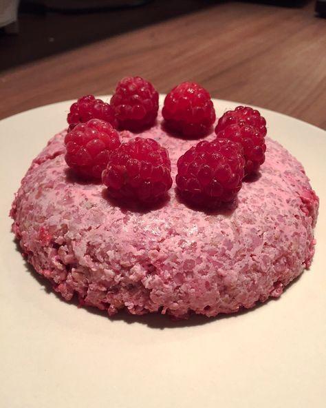 Bowl Cake framboises