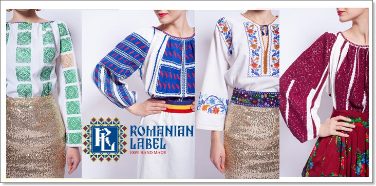 Vintage Romanian Blouses Collection by Romanian Label