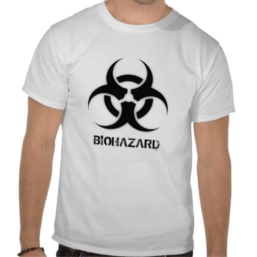 Biohazard Customizable T-Shirt
