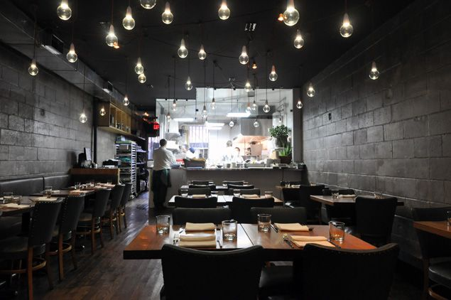 Ursa - Toronto. A restaurant that is defining Canadian cuisine and identity. Serves up delicious dishes while keeping nutritional value in mind.