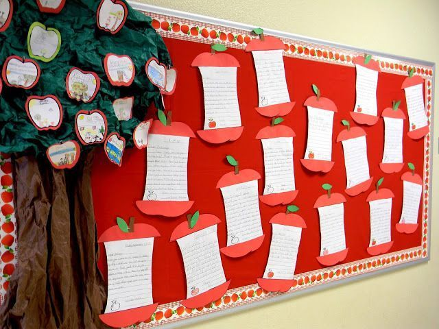 Back to school apple themed writing: apple synonyms and letters to Johnny Appleseed | Around the Kampfire