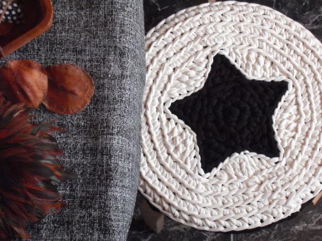 Crochet Cover Stool Inspiration ❥ 4U // hf