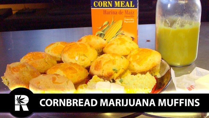 How to Make Cornbread Fiesta Marijuana Muffins: Infused Eats #34 -
