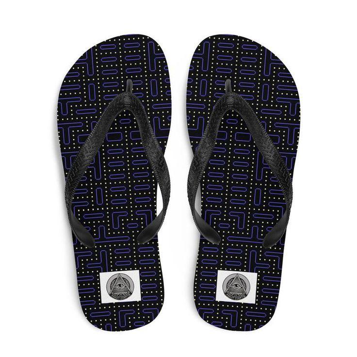 Paisley Print Bandana Flip Flops Beach Sandals Flat Sandals 90s Hip Hop Clothing 90s Sandals 90s Shoes Aesthetic Clothing Punk Clothing