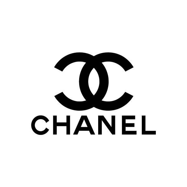 Chanel logo: Het is een tweedimensionale vorm. Het is een geometrische vorm, omdat je de driekwart rondjes kunt maken met een passer. Het zijn meetkundige vormen. Het logo is gestileerd, alle details zijn weggelaten en er is nog maar een simpele vorm over. Het is een niet opvallende kleur.