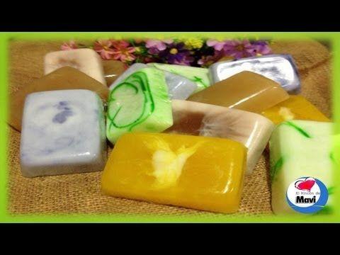 Como hacer jabones artesanales con glicerina - Cosmetica natural