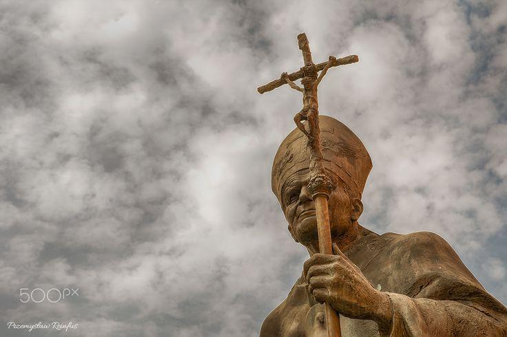 Monument of John Paul II in Poland - null