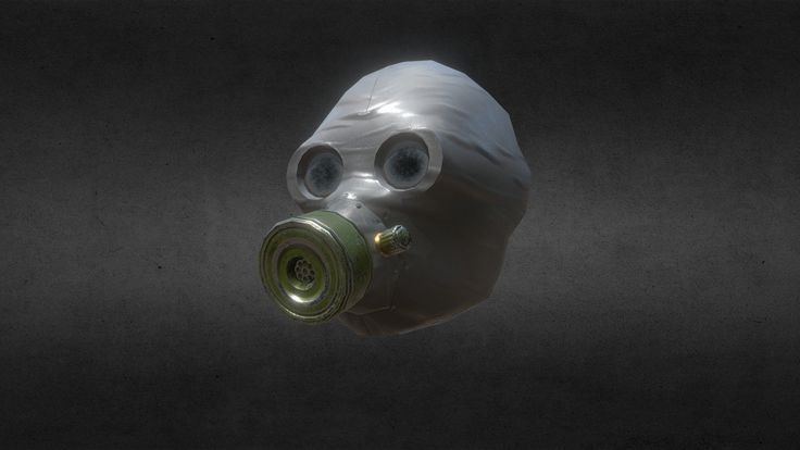 gas mask by gromorg