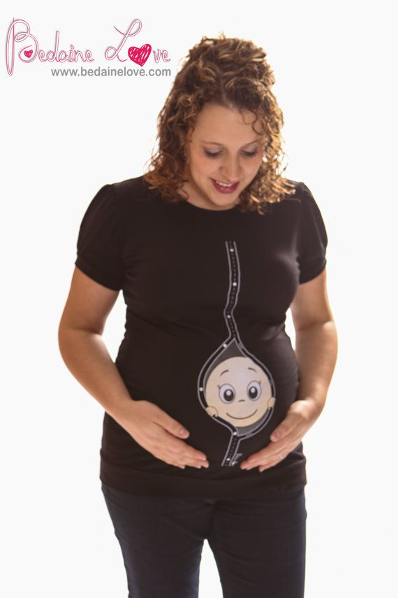 Pregnancy Clothing Funny Maternity Shirt Maternity by BedaineLove