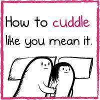 make sure you read the bonus panels how to cuddle like you