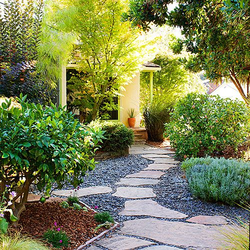 34 best Grassless (No mow yards!) images on Pinterest ... on Small Garden Ideas No Grass  id=39653
