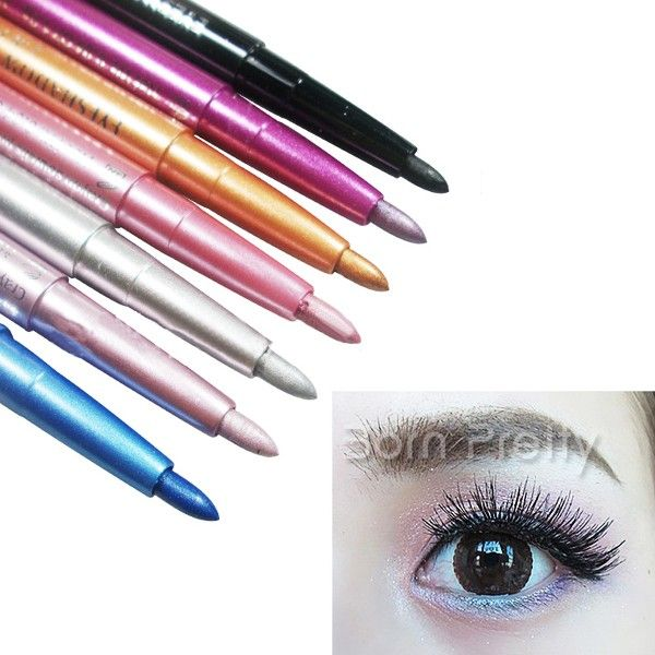 $1.29 1Pc Eyeliner Pen Essential Waterproof Eyeliner Pen For Eye Makeup 6 Colors - BornPrettyStore.com