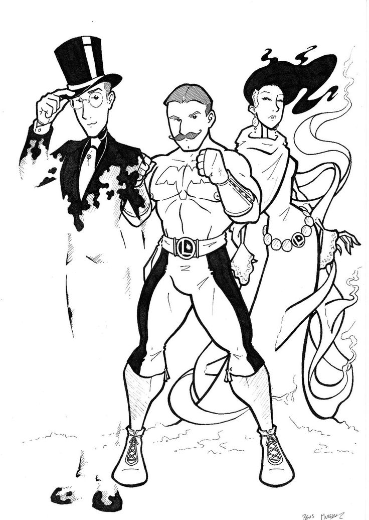 Edwardian Legion 2 by BevisMusson on deviantART Invisible Kid, Ultra Boy and Phantom Girl