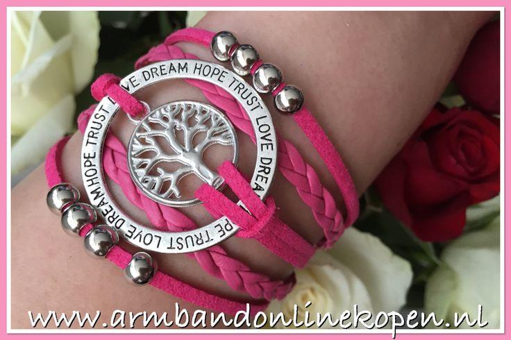 Always Love Dream Hope & Trust in Life www.armbandonlinekopen.nl