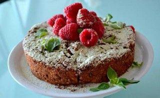 Happy Cake – Rhabarberkuchen mit Schokolade – vegan & glutenfrei