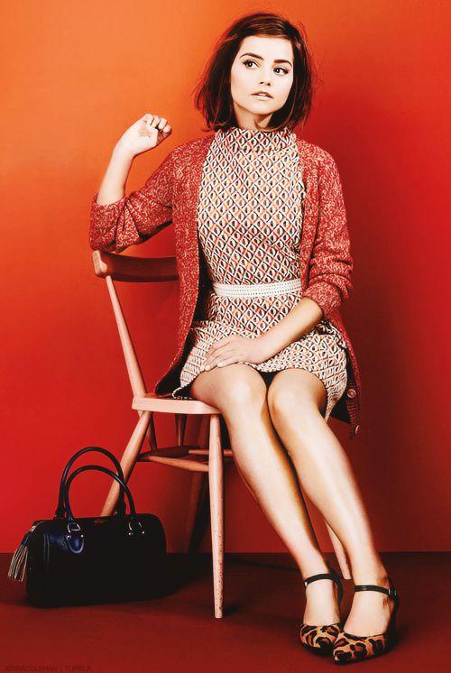 Jenna Coleman photographed by Tom van Schelven for Stylist Magazine
