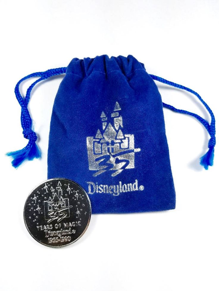 Excited to share the latest addition to my #etsy shop: Vintage Disneyland 35 Years of Magic Coin 1955-1990 with pouch http://etsy.me/2CvIsnE #art #waltdisney #epcot #coin #disneyland #magiccastle #hauntedmansion #collectibles #vintage