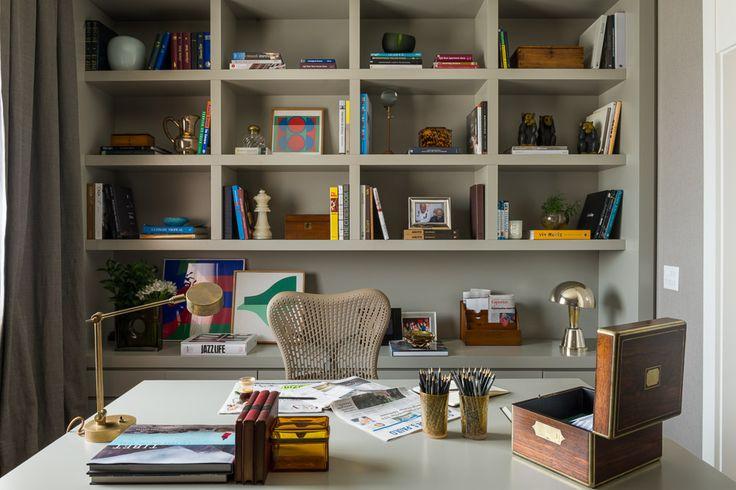 Decoração Home Office por Dado Castello Branco