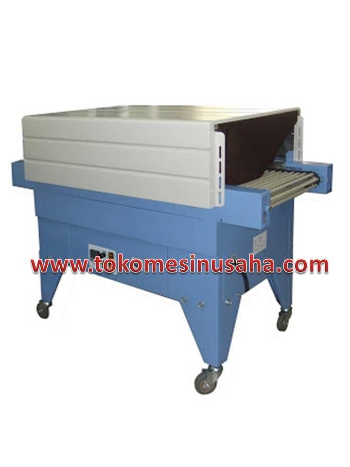 Mesin Thermal Shrink Packing adalah mesin yang digunakan untuk mengemas produk menggunkan plastik hingga plastik menyesuaikan bentuk produk. Spesifikasi: Type                            : BSD – 200 Power pemanas          : 3,5 Kw Adjustable Power                          : 220-240V/50Hz Ukuran Produk            : 15 x 10 cm Ukuran ruang              : 70 x 20 x 13 cm Suhu ruang                 : 200°C max Dimensi                       : 1000 x 350 x 1050mm Kapasitas…