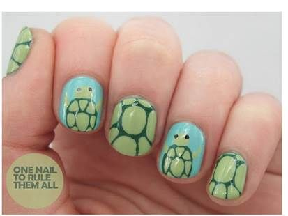 13 best turtle nail designs images on pinterest turtle nails seven deadly sins challenge week lust prinsesfo Gallery