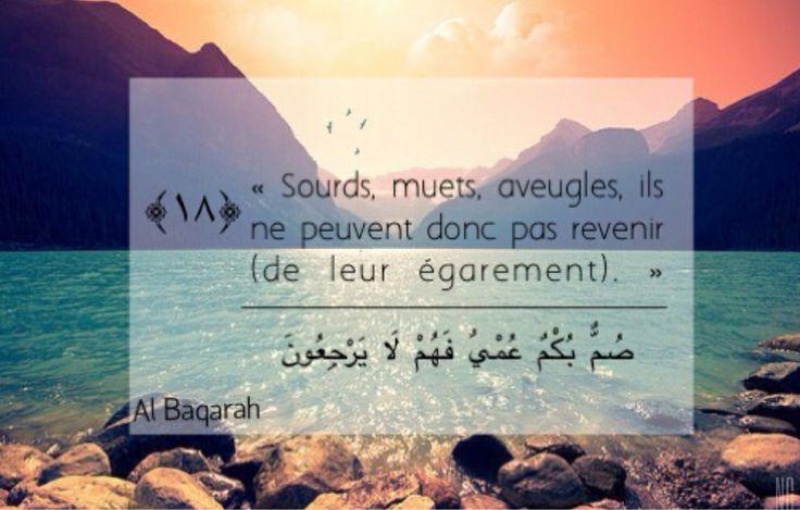 Sourate II Verset XVIII