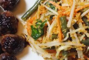 oerap oerap, Indisch groentegerecht