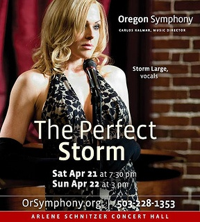 Storm Large With The Oregon Symphony