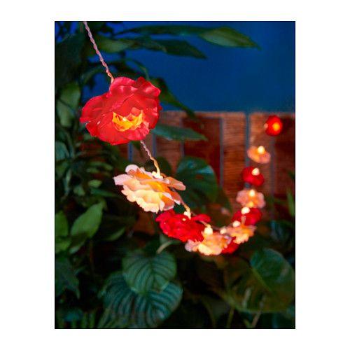 SOLVINDEN Decoratie voor lichtsnoer, bloem bloem -