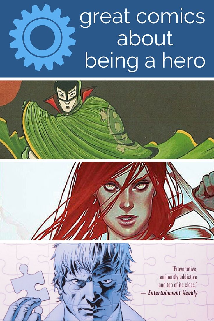 7 Outstanding Comics About Being A Hero - Planet Jinxatron
