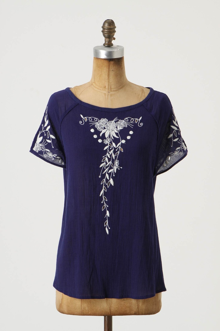 Margent Blouse, Anthropologie, $78.00
