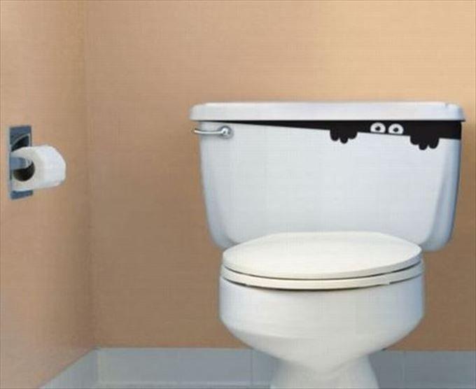 トイレのタンクの中にはなにかいる?タンクシール