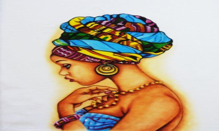 Pintura Étnica com Pele Negra