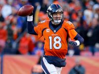 Peyton Manning and the Broncos are heading back to the AFC Championship Game after outlasting the Steelers in a field-goal festival on Sunday.