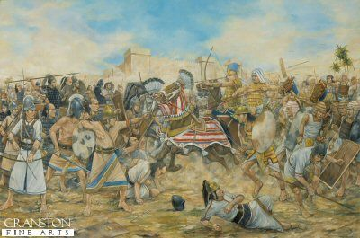 In 1275 BC there were two superpowers in the ancient near east, in the south the Egyptians and in the north the Hittites from Anatolia in modern day central Turkey. A clash between these two powers was inevitable. The Egyptian Pharaoh Rameses II marched an army north into Syria to confront the Hittites and their allies under King Muwatallis.