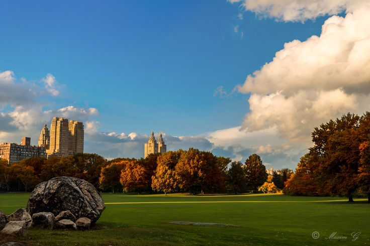 #newyork  #centralpark   #US  #Park , #landscape  # fall  #photography #travelphotography