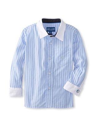 63% OFF Andy & Evan Boy's 2-7 Necessary Cuffness Big Boy Button-Up (Blue)