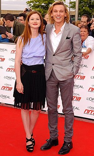 Bonnie Wright | Jamie Campbell Bower | National Movie Awards