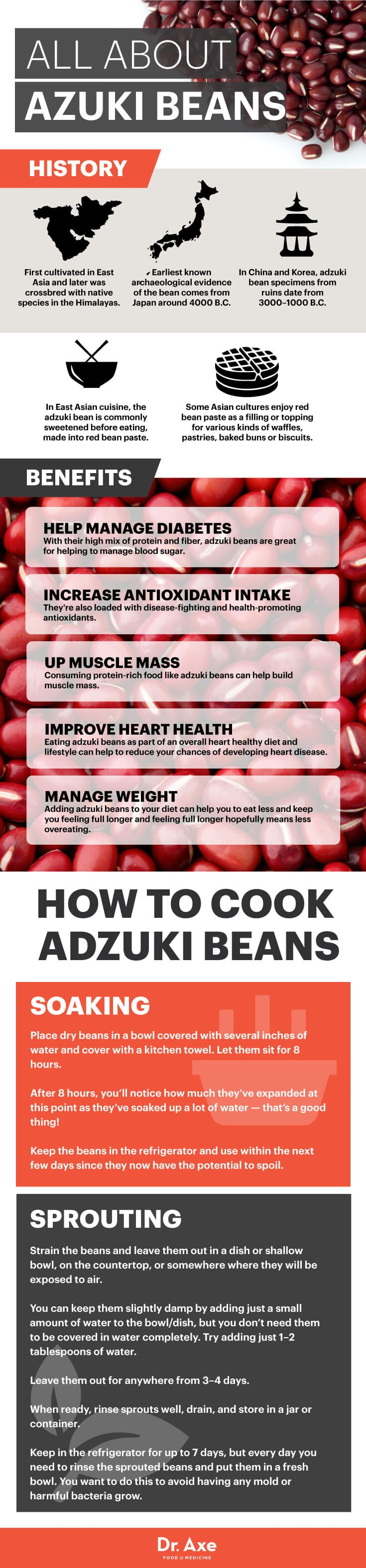 All about adzuki beans - Dr. Axe http://www.draxe.com #health #holistic #natural