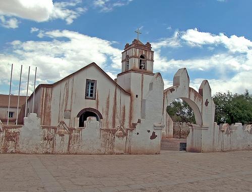 Iglesia San Pedro de Atacama, Chile