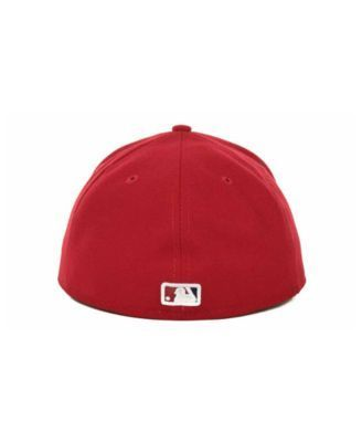 New Era Washington Nationals Authentic Collection 59FIFTY Hat - Red 7 3/8