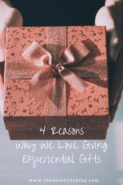 4 Reasons Why We Love Giving Experiential Gifts