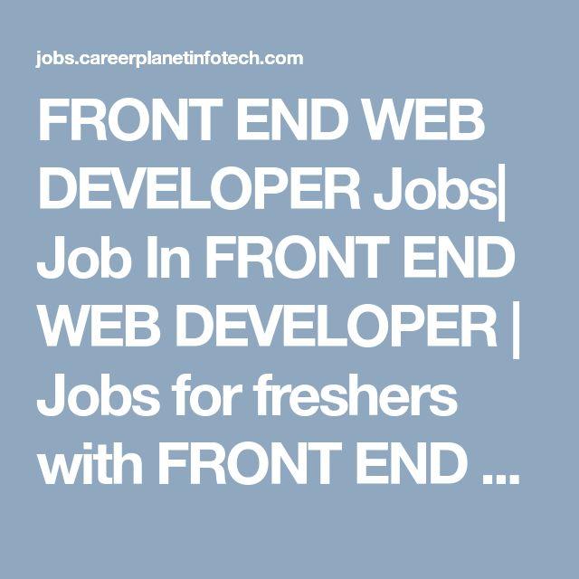 The 25+ best Web developer resume ideas on Pinterest Web - resume of a web developer